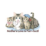 A Mother's Love is Purfect Custom Nightshirt