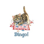 Bingo! Kitten Custom Nightshirt