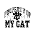 Property of My Cat Custom Nightshirt