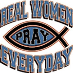 Real Women Pray Custom Nightshirt