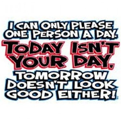 Today Isn't Your Day Custom  Nightshirt