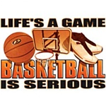 Lifes a Game Basketbal lCustom Night Shirt