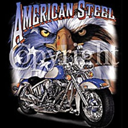American Steel Motorcycle Custom Nightshirt