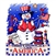 Patriotic Snowman Custom Nightshirt
