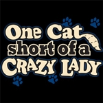 Crazy Lady Custom Nightshirt