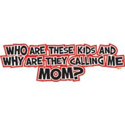 Who Are These Kids/Mom Custom Nightshirt