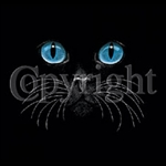 Cat Face With Eyes Custom Nightshirt