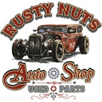 Rusty Nuts Auto Shop Custom Nightshirt