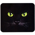Eyes Black Cat Custom Nightshirt