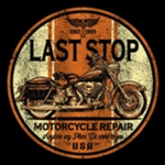 Last Stop Cycle Custom Nightshirt