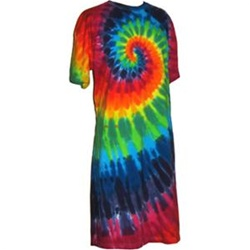 Tie-Dyed - Spiral Night Shirt